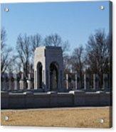 World War 2 Memorial Acrylic Print