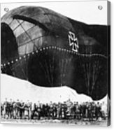 World War I: Airship Acrylic Print