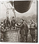 World War I: Balloon Acrylic Print