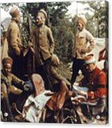World War I: French Troops Acrylic Print