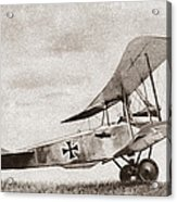 World War I: German Biplane Acrylic Print