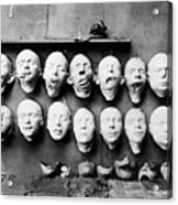 World War I Masks, 1918 - To License For Professional Use Visit Granger.com Acrylic Print