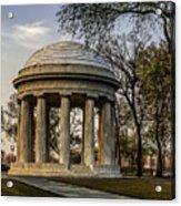 World War I Memorial Acrylic Print