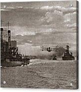World War I: Naval Fleet Acrylic Print