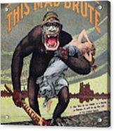 World War I: Recruitment Acrylic Print by Granger