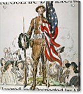 World War I: U.s. Army Acrylic Print