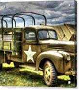 World War II Army Truck Acrylic Print