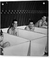 World War II Bath Time For Guys Acrylic Print