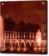 World War II Memorial IIb Acrylic Print