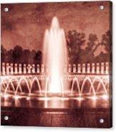 World War II Memorial IIib Acrylic Print