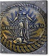 World War II Monument Acrylic Print