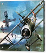 World War One Dogfight Acrylic Print