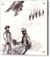 World War One Sketch No. 2 Acrylic Print