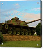 World War Two Tank Acrylic Print