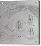 Worlds Best Singer Lata Mangeshkar Acrylic Print
