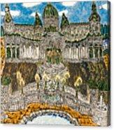 Worlds Fair Pavillon Facing Promenade Of Nations Acrylic Print