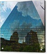 World's Largest Canvas John Hancock Tower Boston Ma Acrylic Print