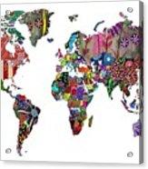 Worldwide Acrylic Print