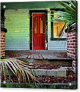Worn Out Welcome Acrylic Print