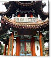 Worship Temple Acrylic Print