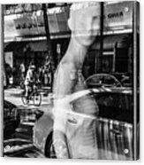 Worth Ave Reflections 0484 Acrylic Print