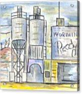 Worthington Ready Mix Acrylic Print