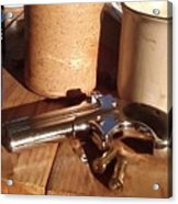 Would You Like A Little Pistol With Your Coffee Acrylic Print