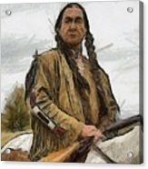 Wounded Knee Acrylic Print