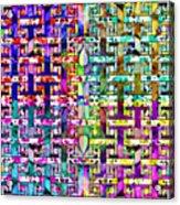 Woven Abstract Acrylic Print