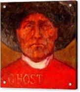 Wovoka -ghost Dance Acrylic Print by Johanna Elik