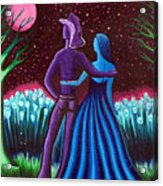 Wrangler's Moon Acrylic Print