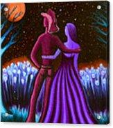 Wrangler's Moon IIi Acrylic Print by Brenda Higginson