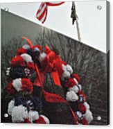 Wreath Of The Korean War Acrylic Print