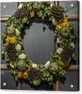 Williamsburg Wreath 21b Acrylic Print