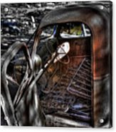 Wrecking Yard Study 5 Acrylic Print