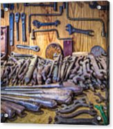 Wrenches Galore Acrylic Print