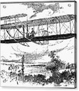 Wright Brothers Plane Acrylic Print