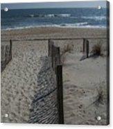 Wrightsville Beach Acrylic Print by Janet Pugh