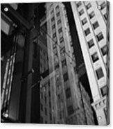 Wrigley Building Reflections Acrylic Print