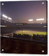 Wrigley Field At Dusk 2 Acrylic Print