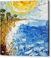 Writhing Sea Acrylic Print