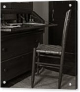 Writing Desk Acrylic Print