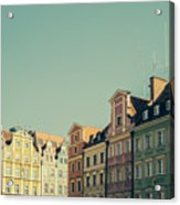 Wroclaw Architecture Acrylic Print