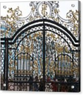 Wrought Iron Gate Acrylic Print