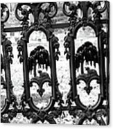 Wrought Iron Gate -west Epping Nh Usa Acrylic Print