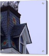 Wrought Iron Roof Top Acrylic Print