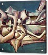 Ws1976ny006 Formas Dinamicas 23x17.5 Acrylic Print