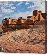 Wukoki Rock Swirl Acrylic Print