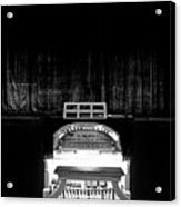 Wurlitzer Organ In The Lincoln Theatre Acrylic Print