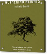 Wuthering Heights Greatest Books Ever Series 017 Acrylic Print